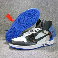 OFF-WHITE xAir Jordan 1 Fragment AA3834-103