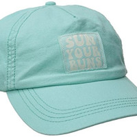 Billabong Junior's Sun Your Buns Baseball Cap, Surf Blue, One Size