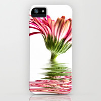 Pink Gerbera Flood 3 iPhone & iPod Case by Steve Purnell