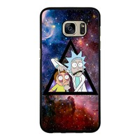 Rick Morty In Space  Samsung Galaxy S7 Case
