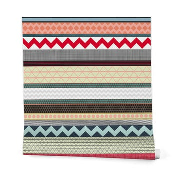 Sharon Turner London Beauty Stripe Wrapping Paper