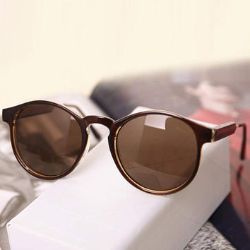 Tawny Celebrity Retro Sunglasses