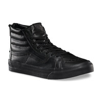 Perf Leather SK8-Hi Slim Zip | Shop Classic Shoes at Vans