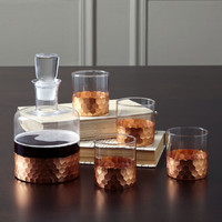 Birch Lane Chauncey 5-Piece Square Decanter Set & Reviews | Wayfair