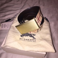 100% Authentic Burberry belt size 105/42