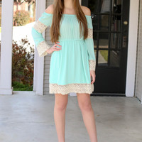 Hit the Dance Floor Dress - Mint