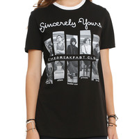 The Breakfast Club Sincerely Yours Girls T-Shirt