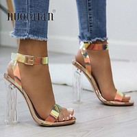 Transparent High Heels Shoes
