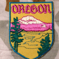 Oregon Vintage Travel Patch by Voyager