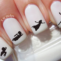 70 Peter Pan Nail Decals