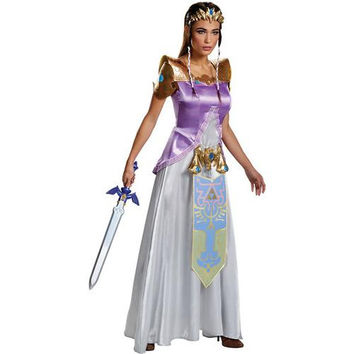 Women's Costume: Zelda Deluxe | Medium
