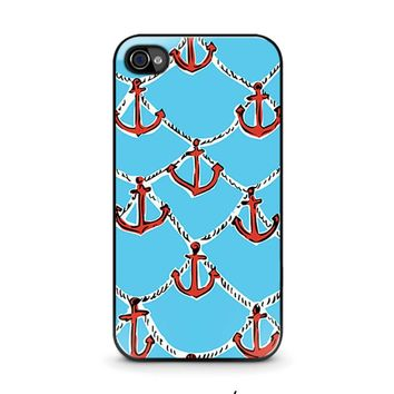 LILLY PULITZER ANCHOR iPhone 4 / 4S Case Cover
