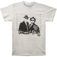 Blues Brothers Men's  T-shirt Silver Rockabilia