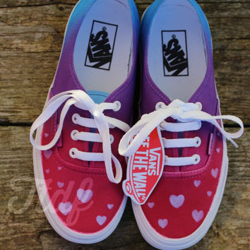 WWW.TEESTODYEFOR.CO.UK #vans #love #fashion #indie #shoes #tiedye #tiedyevans