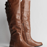 Montana Boots In Chestnut