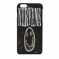 Nirvana Wood Sign Art iPhone 6 Case