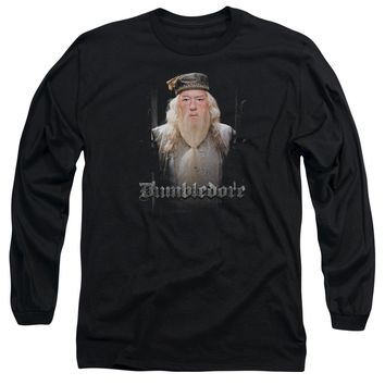 Harry Potter - Dumble Doors Long Sleeve Adult 18/1 Officially Licensed Shirt
