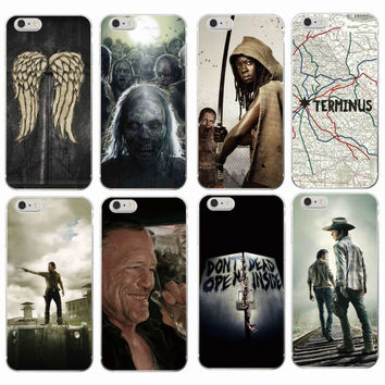 The Walking Dead Soft Phone Case's For iPhone/Samsung