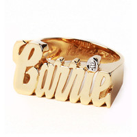 Custom Nameplate Ring