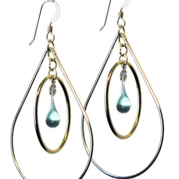 Water Pear Earrings