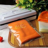 Unique design 5 Transparent Plastic Vacuum Food Bag 20*30cm free shipping