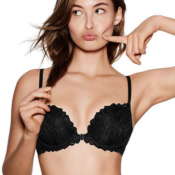 The Date Racerback Push-Up Bra - PINK - Victoria's Secret