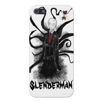 Edgy Slenderman iPhone 5 Case from Zazzle.com