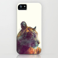 Tiger // Solace iPhone & iPod Case by Amy Hamilton