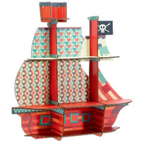 DJECO THE PIRATES TREASURE SHELF