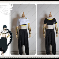 Magi The labyrinth of magic Judal Black Upscale Anime Cosplay Costume