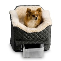 Snoozer Lookout II Dog & Pet Car Seat with Storage Tray