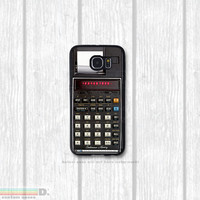 Retro Printing Calculator, Custom Phone Case for Galaxy S4, S5, S6