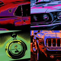 '69 Mustang Photograph by Gordon Dean II - '69 Mustang Fine Art Prints and Posters for Sale