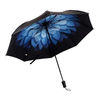 LYZA Fresh Art Style Folding Umbrella