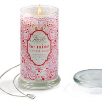 "Secret Jewels Scented Candle ""Be Mine"" Cupcake Scented"
