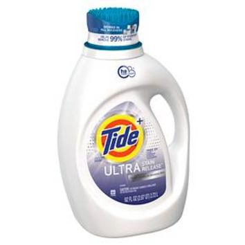 Tide Ultra Stain Release FREE Liquid Laundry Detergent 92 oz