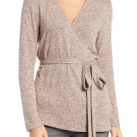 Trouvé Wrap Sweater | Nordstrom