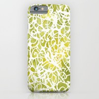 Spiral in Green iPhone & iPod Case by Rosie Brown | Society6