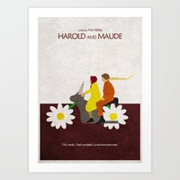 Harold and Maude Art Print by Ayse Deniz