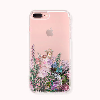 Floral iPhone 7 Case,iPhone 7 Plus Case,iPhone 6/6S Case,iPhone 6/6S Plus Case,iPhone 5/5S/SE Case,SAMSUNG Galaxy Case - A Beauty of Grass
