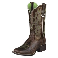 Ariat Women's Tombstone Boots - Chocolate Chip - 10005867