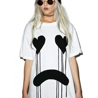 Long Clothing Drippy Tee | Dolls Kill