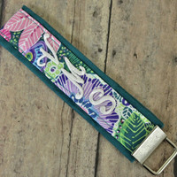 Add on MONOGRAM to the Key Fob wristlet