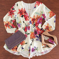 Floral Garden Playsuit