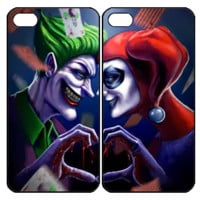 Joker and Harley Quinn Samsung Galaxy S3 S4 S5 Note 3 4 , iPhone 4 4S 5 5s 5c 6 Plus , iPod Touch 4 5 , HTC One M7 M8 ,LG G2 G3 Couple Case