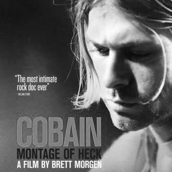 "Kurt Cobain Montage Of Heck Poster Black and White Poster 24""x36"""