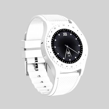 Bluetooth Smart Wristwatch Bluetooth Smart Watch Fashion Heart Rate Fitness Tracker Bluetooth Kids Watch 0.3MP Touch Screen