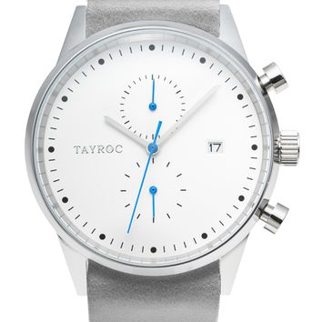 TXM089 - Grey Leather NATO