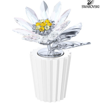 Swarovski Crystal Figurine Flower DAISY #5045567 New