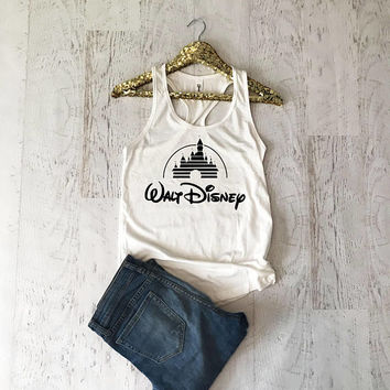 Disney Shirts, Disney Shirts for Women, Disney tank Top, Walt Disney Shirt, Women Disney Shirts, Minnie Mouse Shirt, Disney Trip Shirts